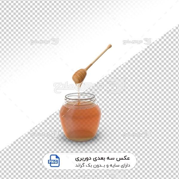 عکس برش خورده سه بعدی عسل