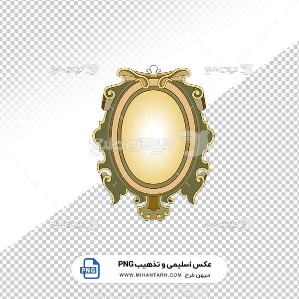 عکس برش خورده اسلیمی و تذهیب طرح عنوان اصلی