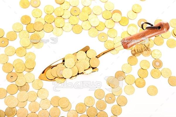 عکس سکه و پولدار شدن