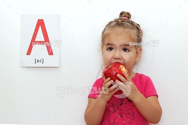 عکس آموزش زبان به خردسالان