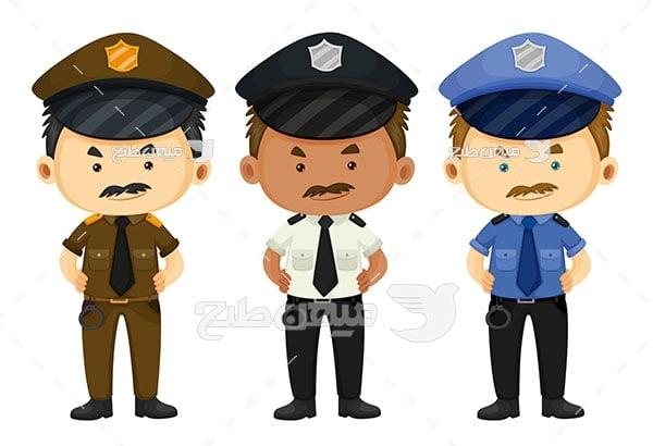 وکتور پلیس عصبانی