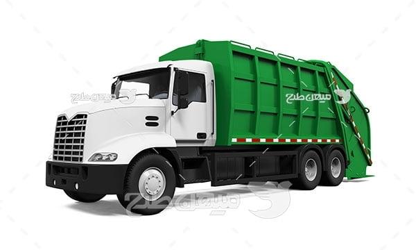 عکس تبلیغاتیماشین حمل زباله