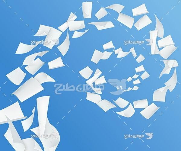 وکتور کاغذ