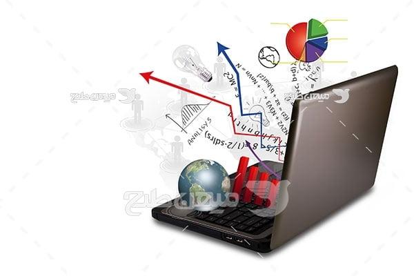 عکس بورس و سرمایه گزاری اینترنتی