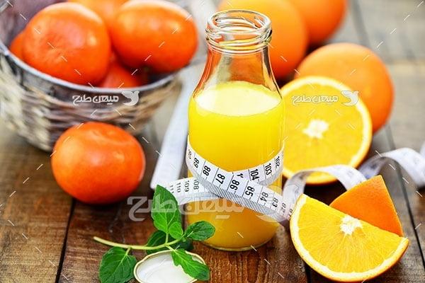 عکس پرتقال تازه