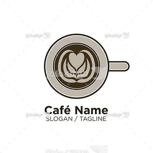 آیکن و لوگو کافه و صبحانه خوری