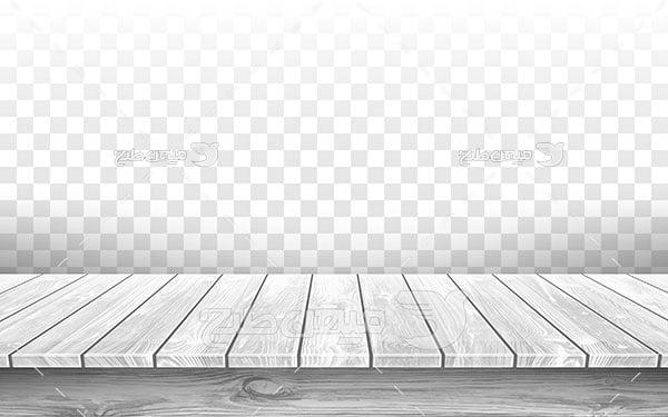 وکتور کف پوش چوبی خاکستری