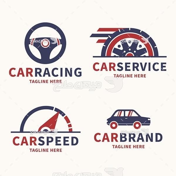 لوگو و آیکن ماشین و خدمات ماشین
