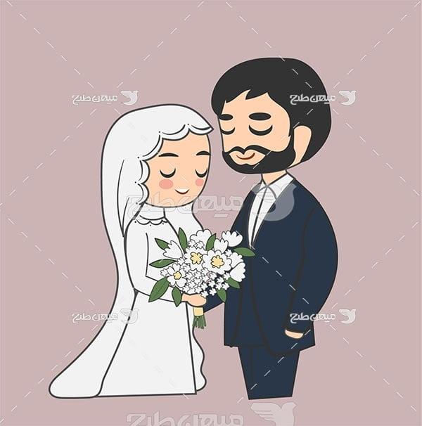 وکتور ازدواج اسلامی
