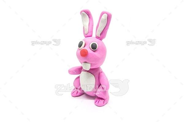 عکس خرگوش خمیری