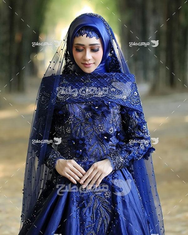 عکس دختر ایرانی با لباس محلی