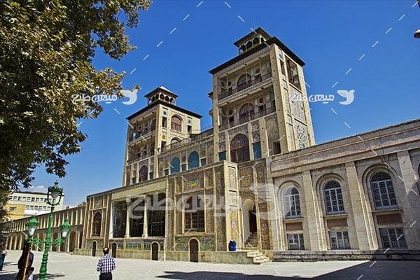 عکس کاخ گاستان شهر تهران