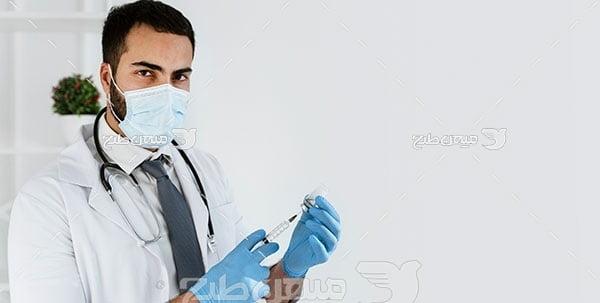 عکس پزشک مرد
