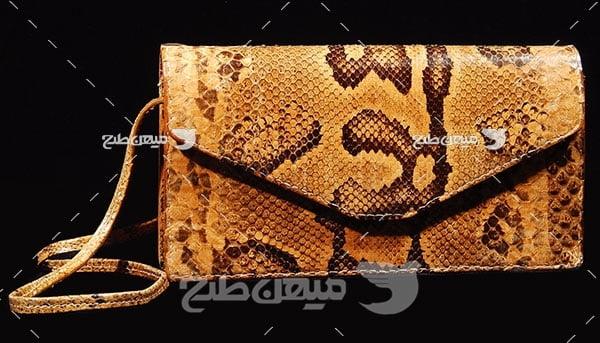 عکس تبلیغاتی مد کیف چرم زنانه