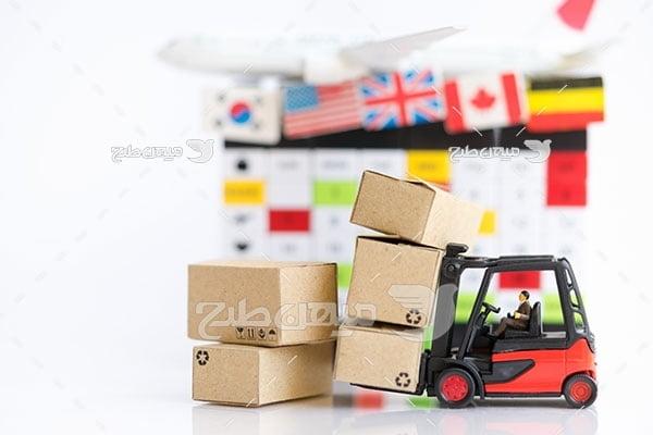 عکس حمل و نقل بین المللی