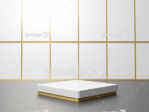 عکس بک گراند مدل مینیمال سفید و خاکستری