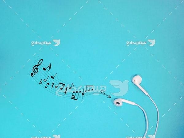 عکس هدفون موزیک