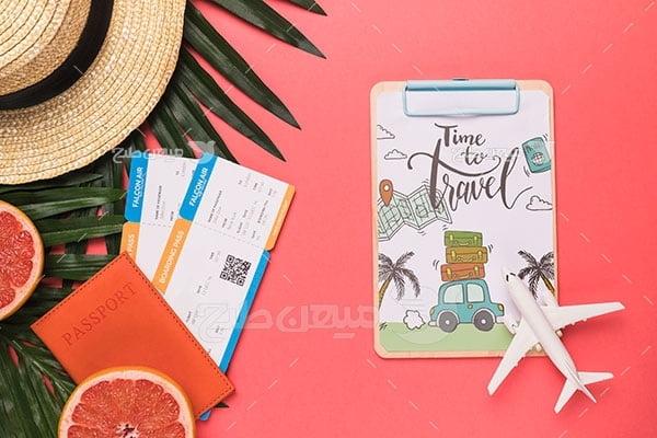 عکس تبلیغاتی سفرهای تابستانی و گردشگری