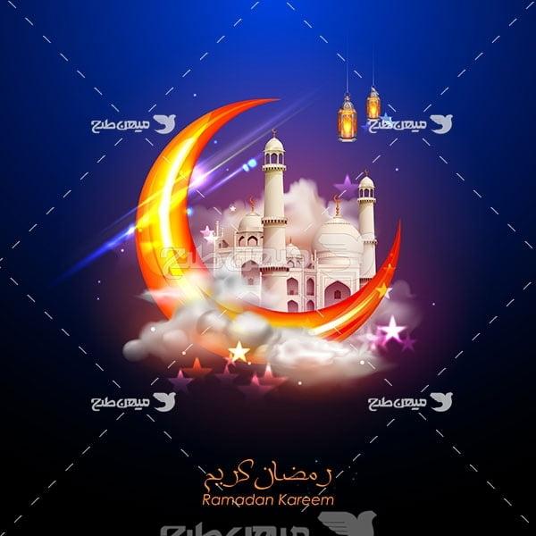 وکتور رمضان زیبا