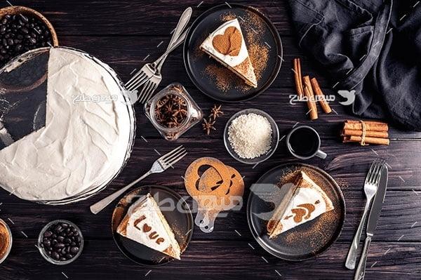 عکس کیک قهوه