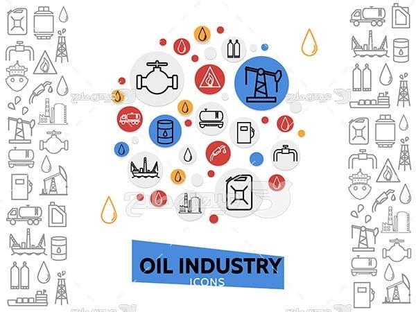 آیکن فرآورده های نفتی