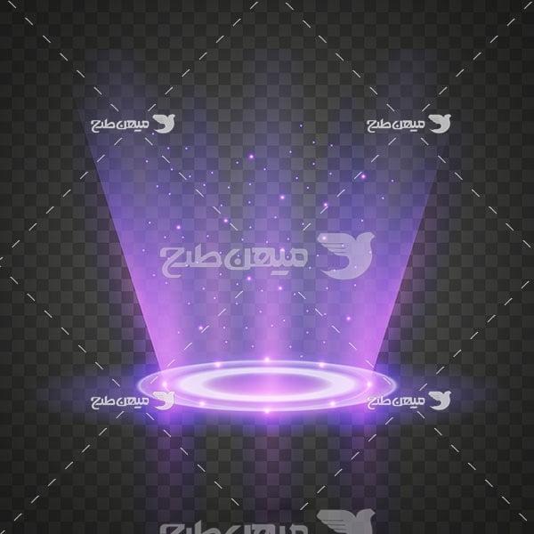 وکتور کاراکتر نور صحنه