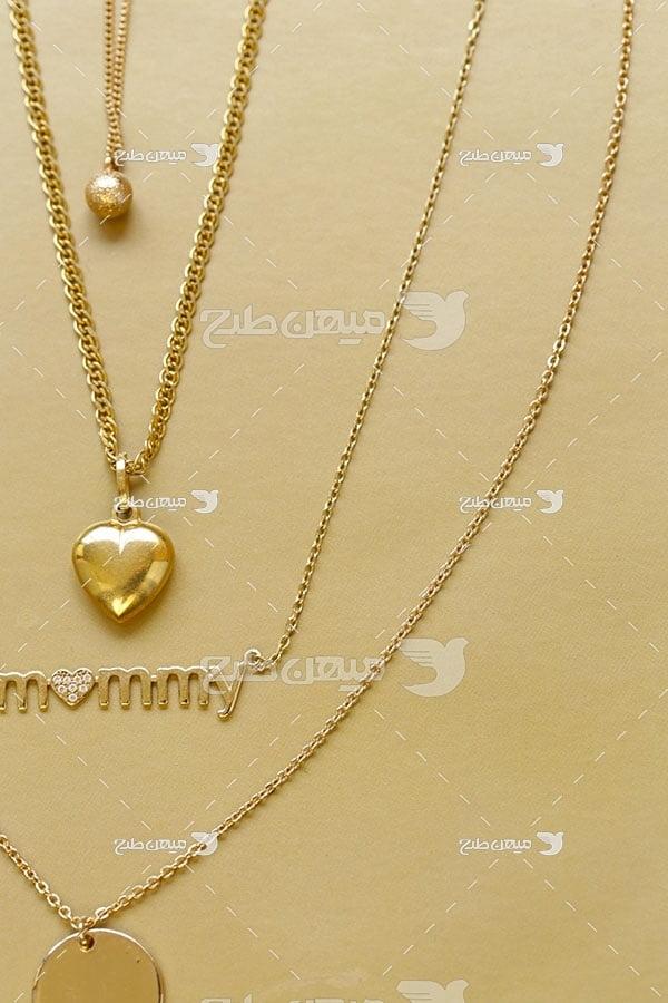 عکس گردنبند زنجیر طلا