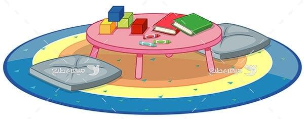 وکتور میز سبک ژاپنی