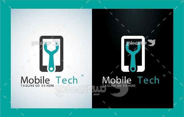 آیکن و لوگو تکنولوژی تلفن همراه