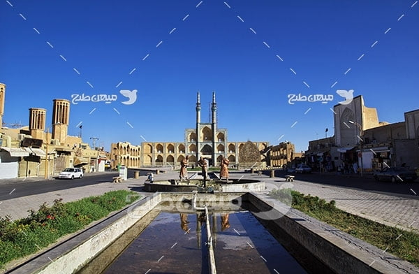 عکس مسجد شهر یزد