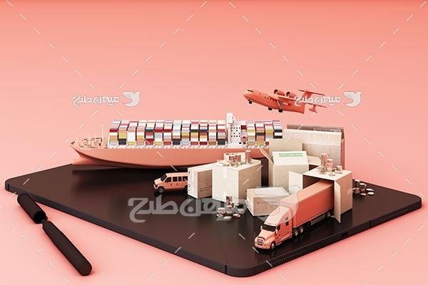 عکس انواع سرویس حمل و نقل