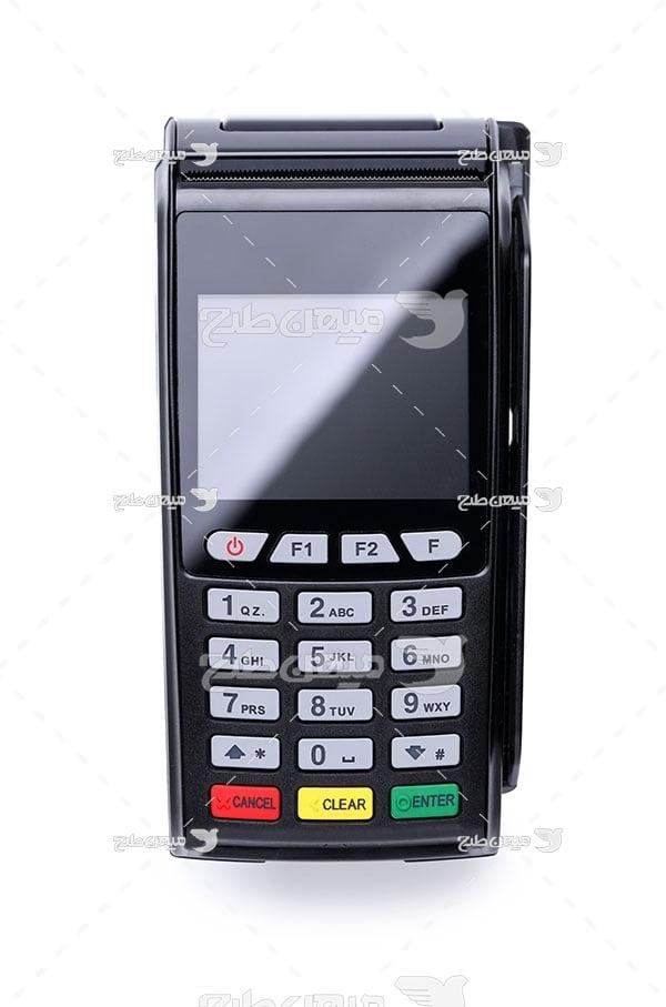 عکس دستگاه کارت خوان سیار