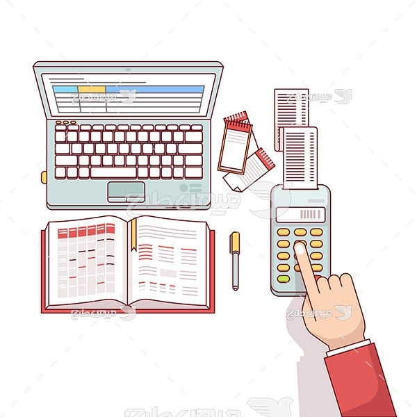 وکتور کار حسابداری