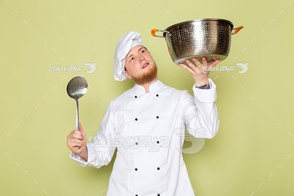عکس کاراکتر مرد آشپز