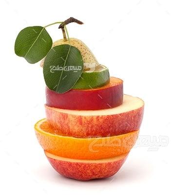 عکس تبلیغاتی غذا و ترکیبات میوه