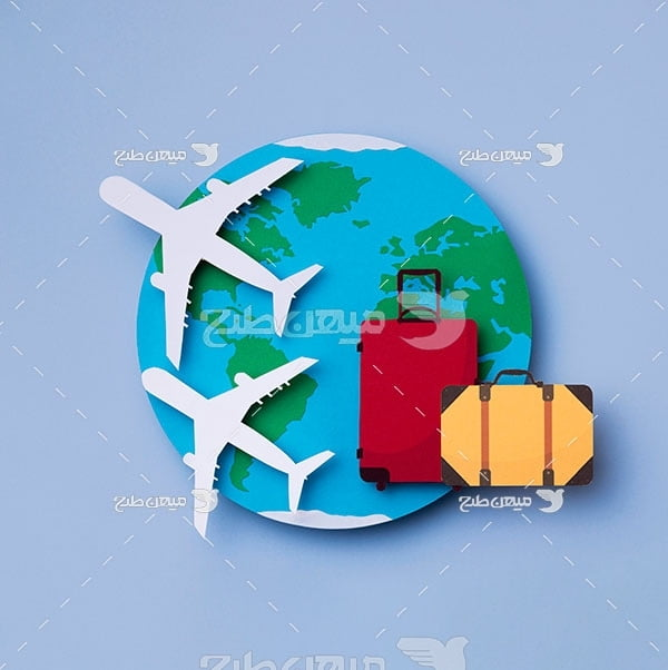 عکس مسافرت با هواپیما