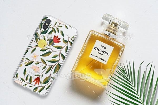 موکاپ  موبایل و عطر