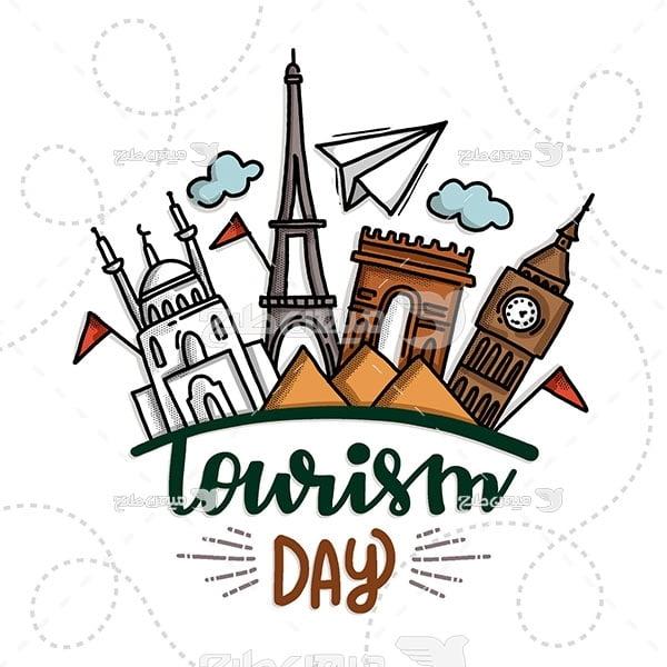 وکتور روز جهانی گردشگری