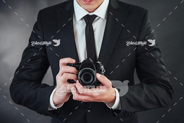 عکس عکاس حرفه ای