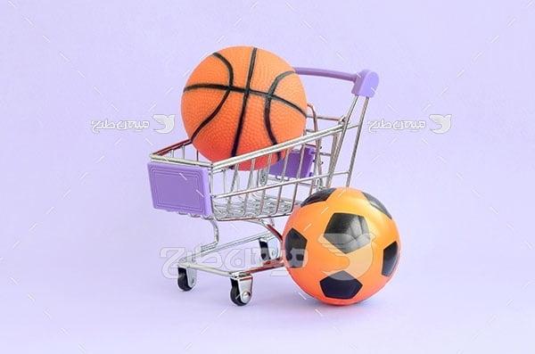 عکس توپ ورزشی