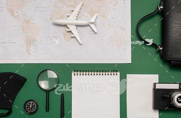 عکس سفر هوایی