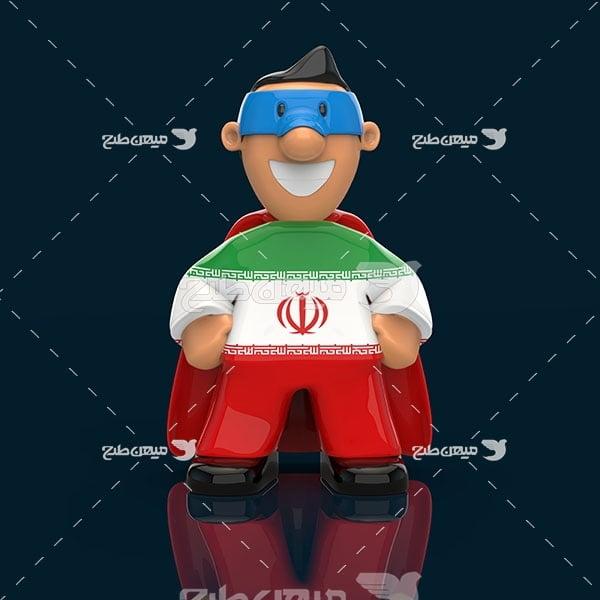 عکس کاراکتر نماد ایران