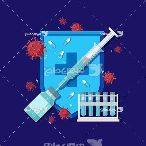 وکتور واکسن درمان کویید 19