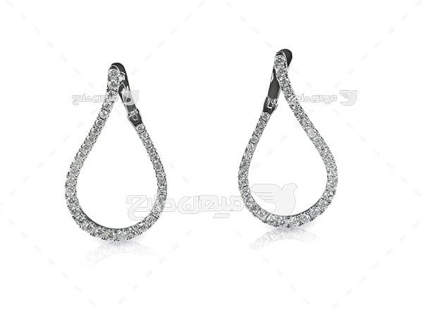 عکس گوشواره الماس