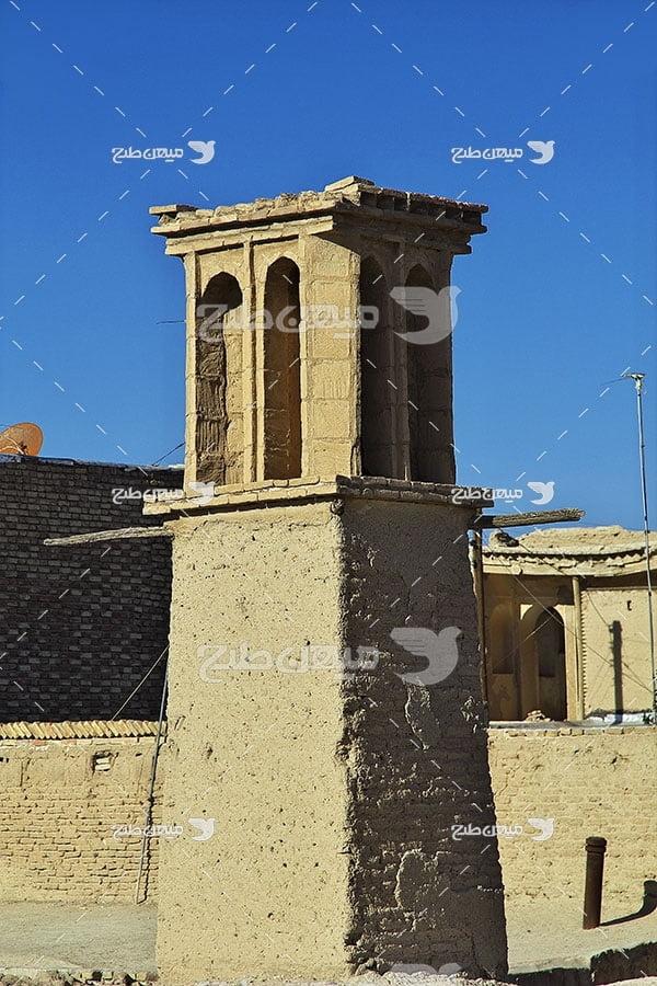 عکس شهر خرابه متروک نایین اصفهان