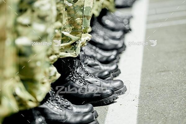 عکس صبحگاه سربازی