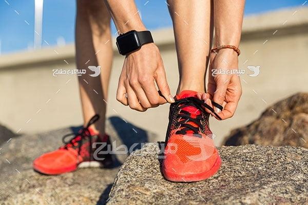 عکس ساعت هوشمند ورزشی