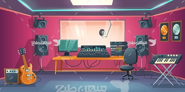 وکتور استدیو ضبط موسیقی