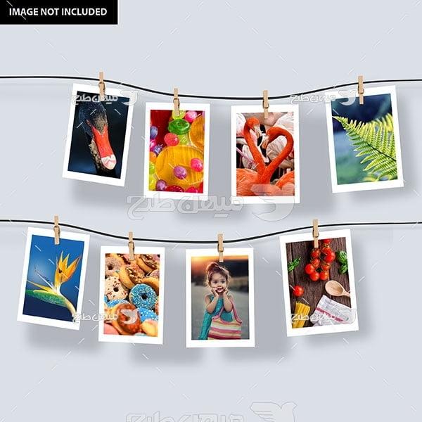 موکاپ گالری تصاویر آلبوم