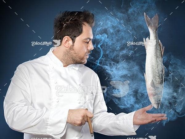 عکس تبلیغاتیآشپز ماهر